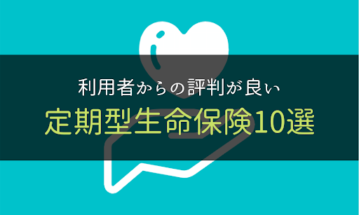 定期型生命保険_10選